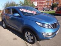 13 KIA SPORTAGE CRDI 2 5 DOOR DIESEL *LEATHER PANROOF*