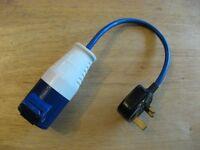 Hook up mains adapter