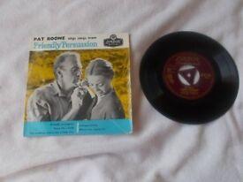 Vinyl 7in EP Friendly Persuasion – Pat Boone London RE – D 1068 Mono 1957
