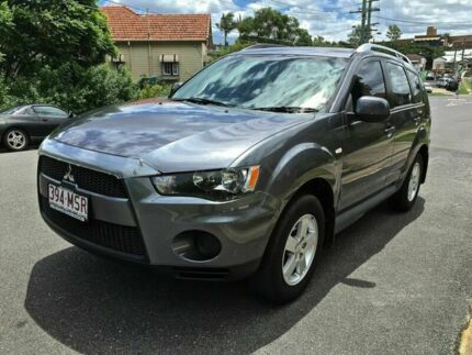 2009 Mitsubishi Outlander LS Green Automatic Wagon Greenslopes Brisbane South West Preview