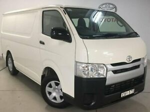 2018 Toyota HiAce TRH201R LWB White 6 Speed Automatic Van Chatswood Willoughby Area Preview