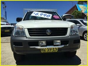2006 Holden Rodeo RA MY06 LX Space Cab White 5 Speed Manual Cab Chassis Kogarah Rockdale Area Preview