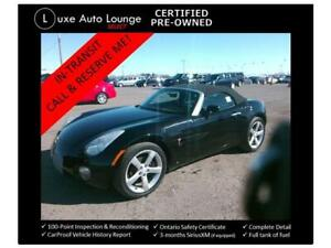 2006 Pontiac Solstice HARD TO FIND!! 5-SPEED CONVERTIBLE!