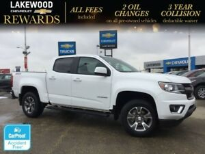 2017 Chevrolet Colorado 4WD Z71 Crew (Heated Seats,Colored Touch