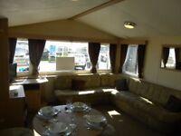 Caravans for sale 8 berth, 12 month park, 10% deposit, full facilities, direct beach-North Yorkshire