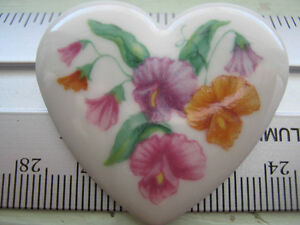 Avon Floral Birthday Brooch