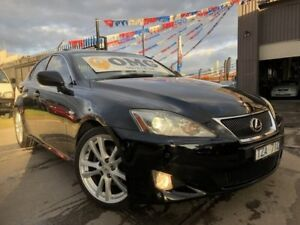 2006 Lexus IS250 GSE20R Sports Black 6 Speed Auto Sequential Sedan Brooklyn Brimbank Area Preview