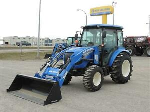 2015 New Holland Boomer 47 with Cab - Hydro, A/C, Heater, Loader