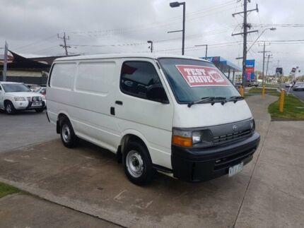 1995 Toyota Hiace RZH103R 5 Speed Manual Van
