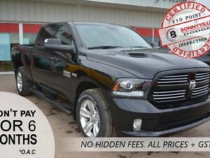 2016 Ram 1500 SPORT, SAVE $15,637, ONLY 1,235 KMS