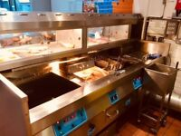 Well established Fish and Chip Shop in Acre Lane Brixton. 23 year Lease, Nil Business rates,