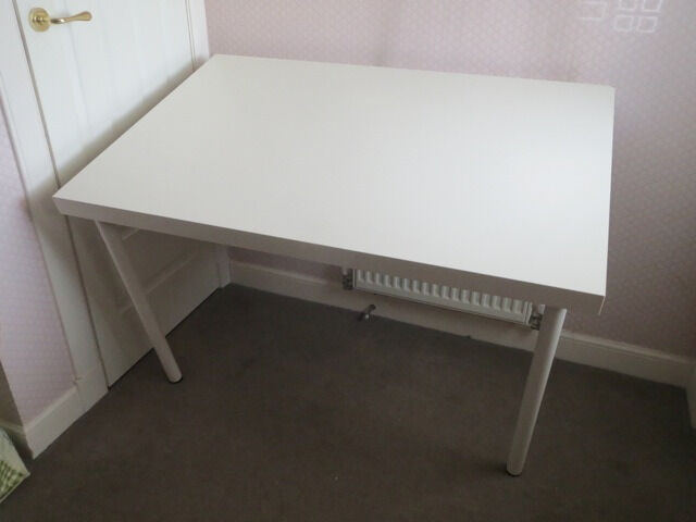 Ikea desk LACK table top and ADILS legs, could be used as study desk/