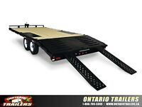 Sure-Trac Low Profile Deckover w/Pop-Up Beavertail 20 ft