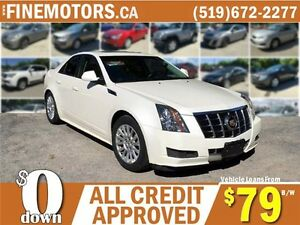2012 CADILLAC CTS 4 * AWD * LOW KM * LEATHER * POWER ROOF