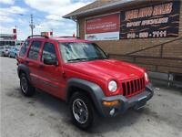 2002 Jeep Liberty Sport******4X4*****ONLY 117 KMS***********