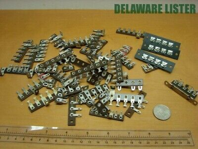 Mixed Lot Of Vintage Wiring Wire Electric Terminal Connectors Blockstrip Nos 2