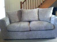NEARLY NEW CORD MINK SOFA