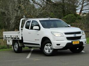2014 Holden Colorado RG MY14 LX Space Cab White 6 Speed Sports Automatic Cab Chassis Strathalbyn Alexandrina Area Preview