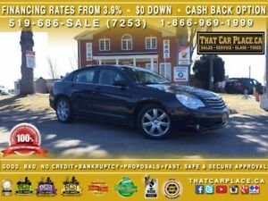 2010 Chrysler Sebring Limited|$56/Wk|Htd Lthr Seats|Sunroof|AUX|