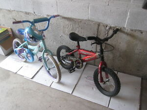Kids bike Boy and Girl Frozen Spiderman from 2 to 7 years old