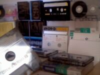 MEMOREX CRX II S C100 MAXELL PHILIPS EMI C60 C90 C100 CASSETTE TAPES JOB LOT. JUST ONE OF MANY LOTS.