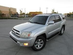 2003 TOYOTA 4RUNNER LIMITED *LEATHER,SUNROOF,4X4,LOADED!!!*