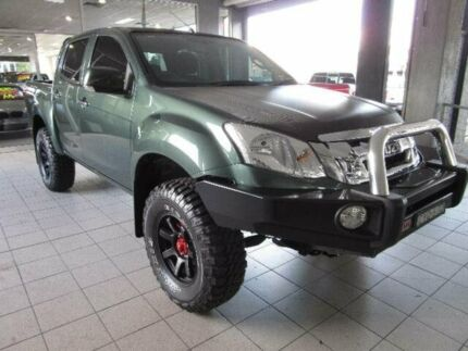 2015 Isuzu D-MAX SX Tundra Green Automatic Dual Cab Thornleigh Hornsby Area Preview