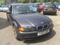 BMW 323, starts and drives, car located in Gravesend Kent, leather interior, no MOT, any questions g
