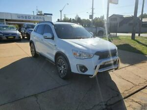 2016 Mitsubishi ASX LS White 6 Speed Automatic Wagon Young Young Area Preview