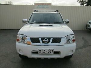 2008 Nissan Navara D22 MY08 ST-R (4x4) White 5 Speed Manual Dual Cab Pick-up Windsor Gardens Port Adelaide Area Preview