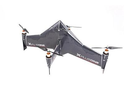 Xcraft Carbon Skinned X PlusOne Platinum Quadcopter with FPV AT2-XP1-003-CB - Gr