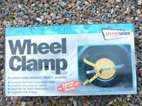 New Trailer Wheel Clamp