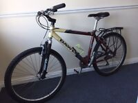 Dawes Tamarak - two bicycles both in excellent condition, 18-inch frames, 24-speed gears