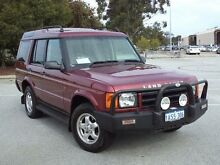 2000 Land Rover Discovery TD5 (4x4) Burgundy 4 Speed Automatic 4x4 Wagon Maddington Gosnells Area Preview