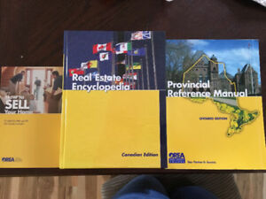 OREA real estate encyclopedia, provincial reference manual books