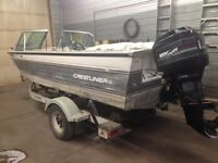 For Sale: 18' Crestliner with 135 horse Merc