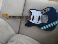 fender mustang RI japan competition blue Cobain Nirvana