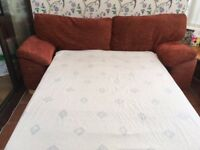 Bed Settee. Chair and Foot Stool