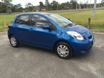 2011 Toyota Yaris NCP90R 10 Upgrade YR Blue 4 Speed Automatic Hatchback West Gosford Gosford Area Preview