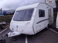 2007 Swift Challenger 480/2 inc Awning And Motor Mover 2 Berth Touring Caravan.