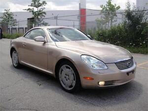 2003 LEXUS SC 430 CONVERTIBLE-LOADED,PREMIUM LEATHER,NO ACCIDENT