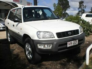 1998 Toyota RAV4 SXA11R White 5 Speed Manual Wagon Noosaville Noosa Area Preview