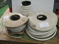 Job lot of electric cables/wires/rubber matting etc see all photoas