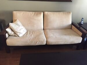 Micro fibre couch, chair, sofa, two end tables and coffee $500 Regina Regina Area image 3