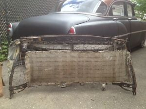 1953 chevy rear upper seat frame