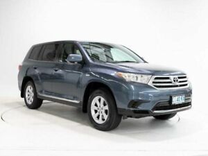 2011 Toyota Kluger GSU40R MY11 Upgrade KX-R (FWD) 7 Seat Blue 5 Speed Automatic Wagon