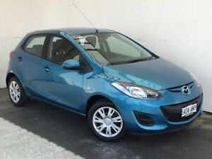 2011 Mazda 2 DE10Y1 MY10 Neo Blue 5 Speed Manual Hatchback Mount Gambier Grant Area Preview