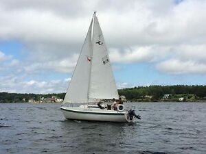 For Sale Well Maintained Tanzer 26 Sailboat