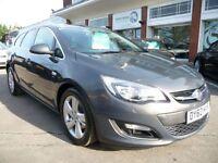 VAUXHALL ASTRA 2.0 SRI CDTI 5d AUTO 162 BHP (grey) 2012