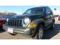 2006 Jeep Liberty Sport CRD DIESEL !! LEATHER, CLEAN CARPROOF !!